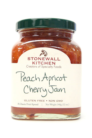 Stonewall Kitchen Peach Apricot Cherry Jam