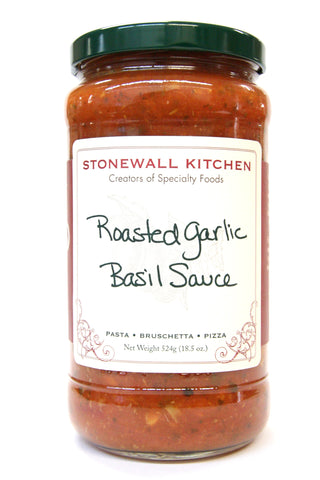 Stonewall Kitchen Roasted Garlic Basil Sauce