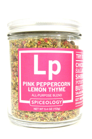 Spiceology Pink Peppercorn Lemon Thyme All-Purpose Rub