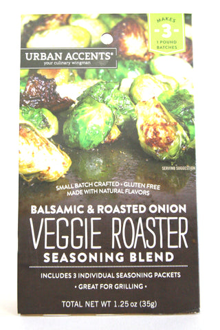 Urban Accents Balsamic & Roasted Onion Veggie Roaster Seasoning Blend