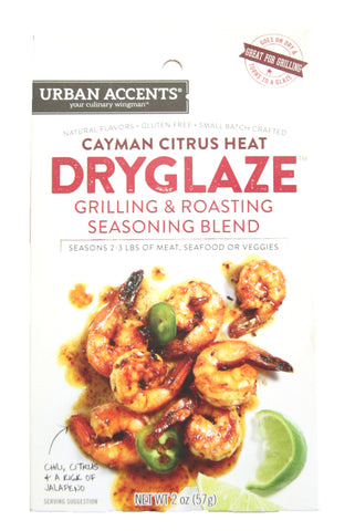 Urban Accents Cayman Citrus Heat Dryglaze Grilling & Roasting Seasoning Blend