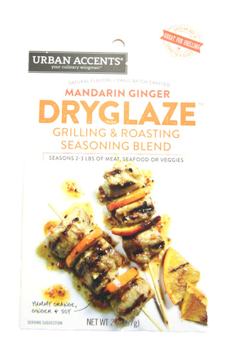 Urban Accents Mandarin Ginger Dry Glaze Grilling & Roasted Seasoning Blend