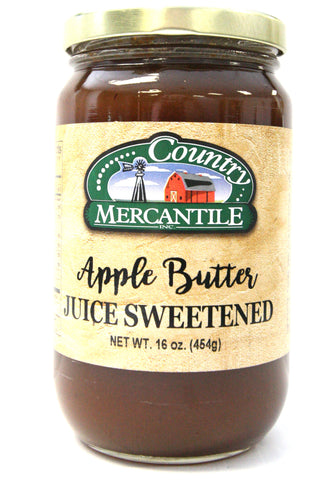 Country Mercantile Juice Sweetened Apple Butter