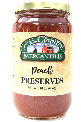 Country Mercantile Peach Preserves