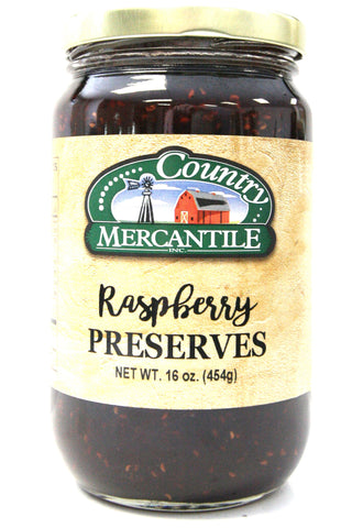 Country Mercantile Raspberry Preserves