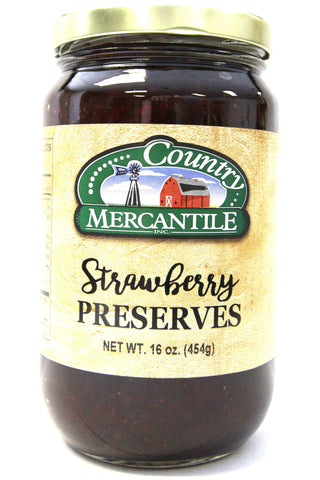 Country Mercantile Strawberry Preserves
