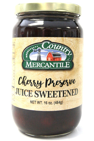 Country Mercantile Juice Sweetened Cherry Preserves