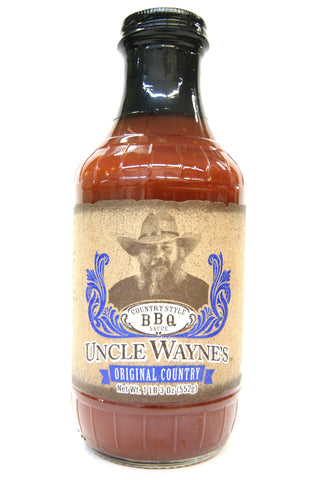 Uncle Wayne's Original Country BBQ Sauce