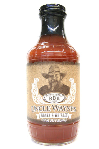Uncle Wayne's Honey & Whiskey BBQ Sauce