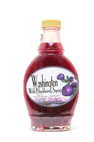 Washington Wild Blackberry Syrup - Net wt. 10 oz.