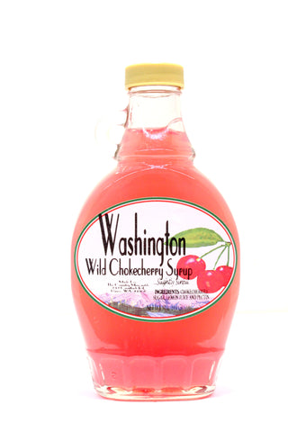 Washington Wild Chokecherry Syrup - Net wt. 10 oz.