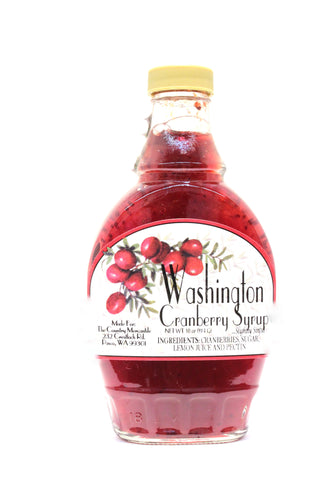 Washington Cranberry Syrup - Net wt. 10 oz.
