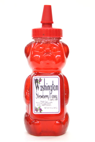Washington Strawberry Honey