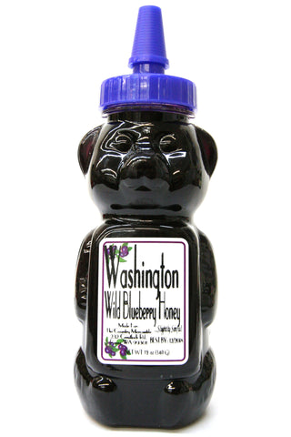 Washington Wild Blueberry Honey Bear