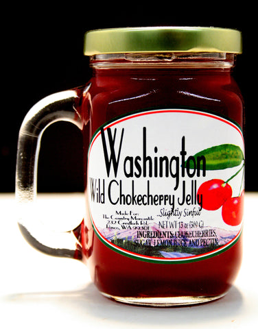 Washington Wild Chokecherry Jelly