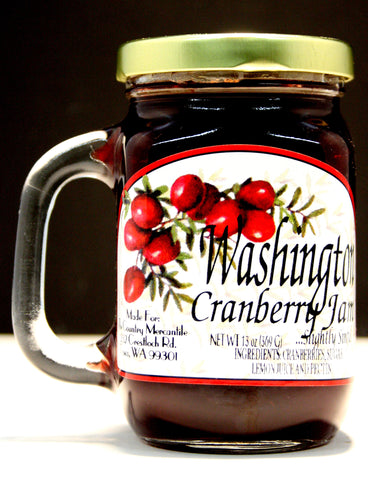Washington Cranberry JamNet Wt.13 oz.