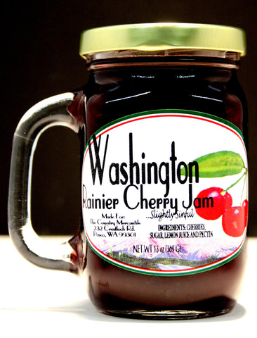 Washington Rainier Cherry JamNet wt 13 oz.