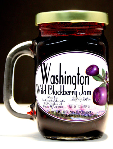 Washington Wild Blackberry JamNet wt 13 oz.