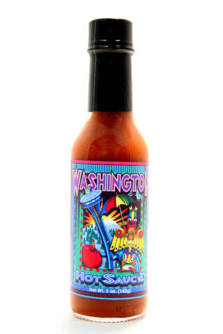 Southwest Washington Hot Sauce. Net Wt. 5 oz.