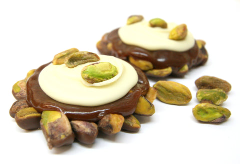 White Chocolate Pistachio Pralines