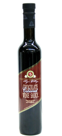 Anettes's Chocolates Chocolate Carbernet Wine Sauce