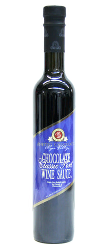 Anette's Chocolates Chocolate Classic Port Wine Sauce