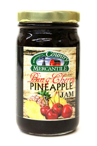 Country Mercantile Bing Cherry Pineapple Jam