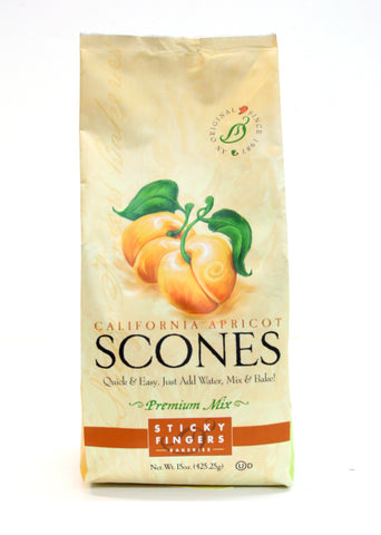 Sticky Fingers California Apricot Premium Scone Mix