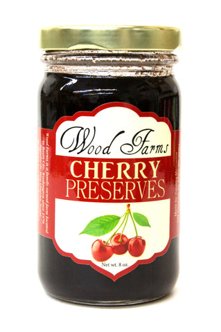 Wood Farms Cherry Preserves