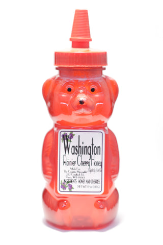 Washington Rainier Cherry Honey Bear