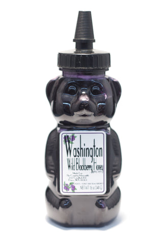 Washington Wild Blackberry Honey Bear