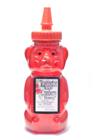 Washington Wild Cranberry Honey Bear