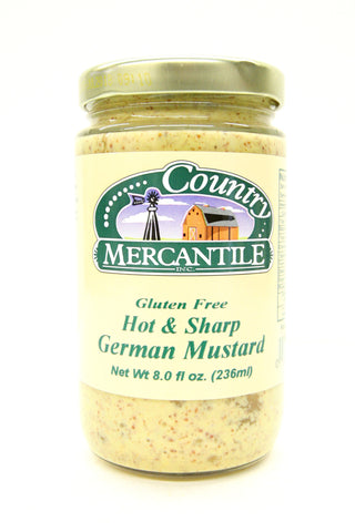 Country Mercantile Gluten Free Hot& Sharp German Mustard