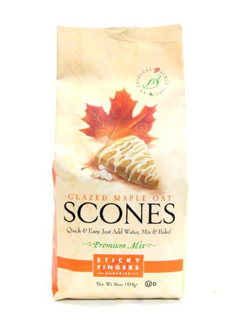 Sticky Fingers Glazed Maple Oat Scones mix