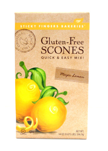 Sticky Finger Gluten-Free Meyer Lemon Scone Mix