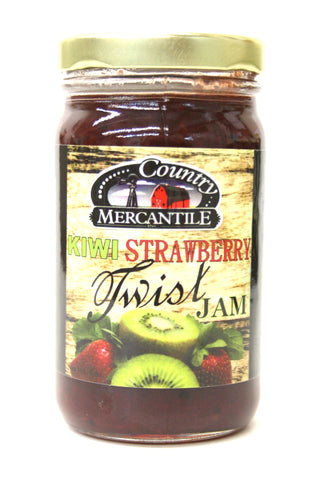Country Mercantile Kiwi Strawberry Jam