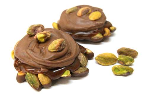 Milk Chocolate Pistachio Pralines