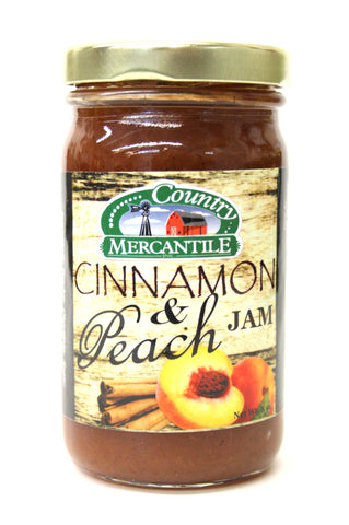Country Mercantile Cinnamon & Peach Jam