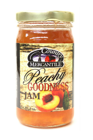 Country Mercantile Peachy Goodness Jam