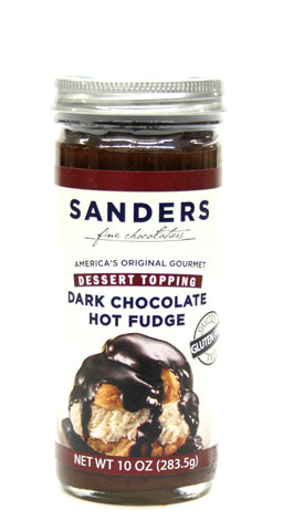 Sanders Dark Chocolate Hot Fudge Dessert Topping