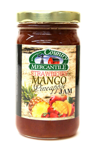 Country Mercantile Strawberry Mango Pineapple Jam