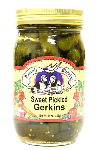 Amish Wedding Sweet Pickled Gerkins
