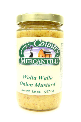 Country Mercantile Walla Walla Sweet Onion Mustard