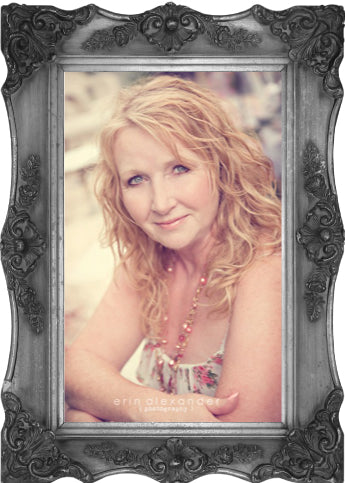 Dayle Goertzen, Owner of Vintage Bling. Photo by Erin Alexander Photography.