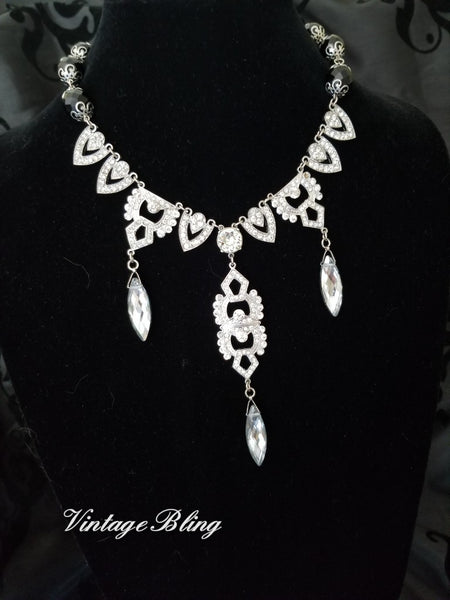 Fabulous Rhinestone Statement Necklace