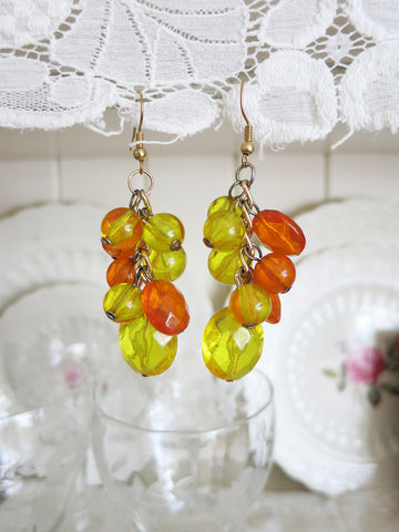 Citrus Colored Earrings