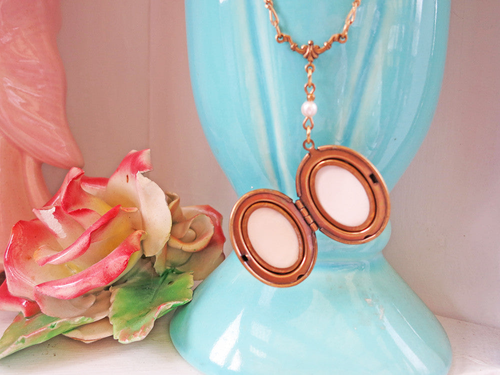 Delicate Locket Necklace