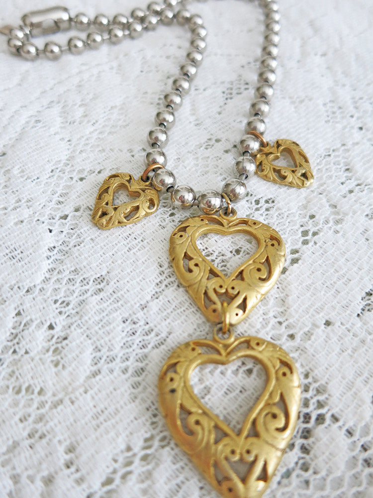 Open Hearted necklace