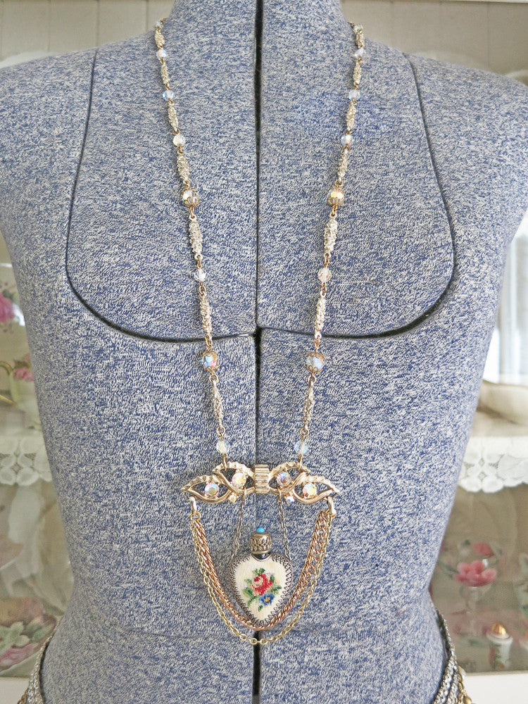 Fragrant Heart Necklace