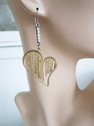 Brave Heart Earrings